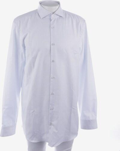 HUGO BOSS Freizeithemd in L in blau / weiß, Produktansicht
