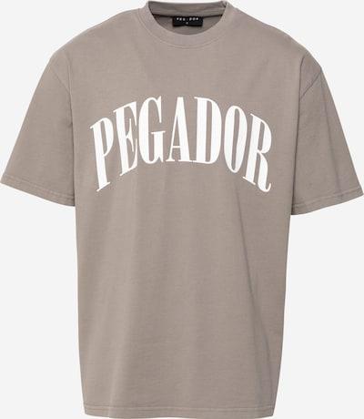 Pegador Тениска 'Cali' в Грейдж / бяло, Преглед на продукта