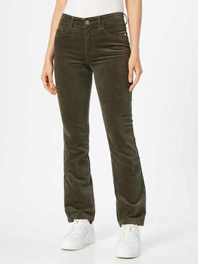 Claire Jeans 'Jaya' in oliv, Modelansicht