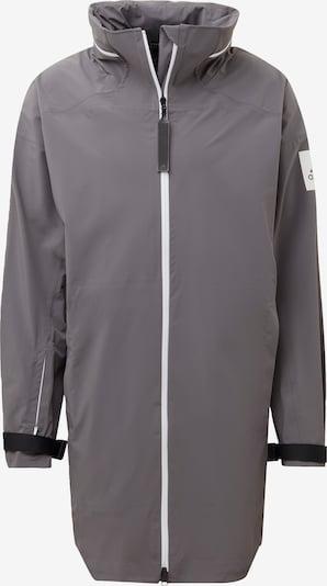 ADIDAS PERFORMANCE Funktionsjacke 'MYSHELTER' in grau / weiß, Produktansicht