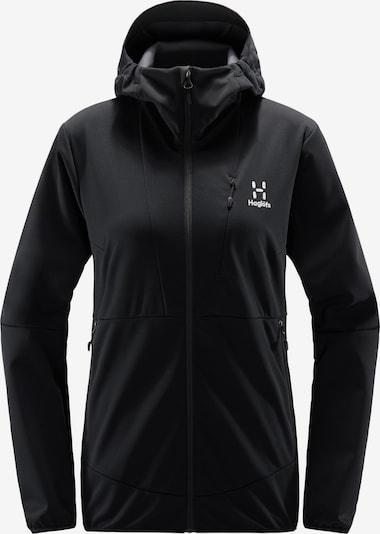 Haglöfs Outdoorjas 'Multi Flex' in de kleur Zwart / Wit, Productweergave