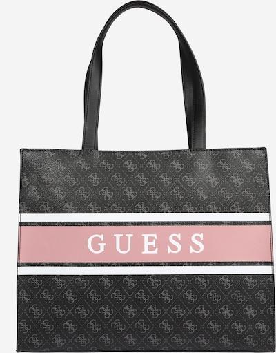 GUESS Shopper 'MONIQUE' en gris / antracita / rosa / blanco, Vista del producto