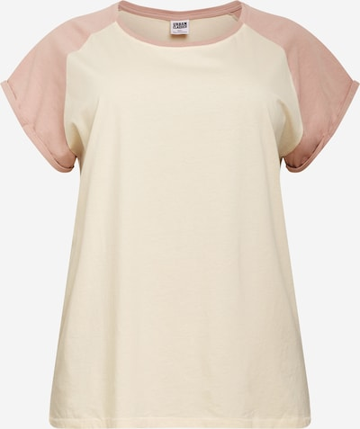Urban Classics Shirt in beige / altrosa, Produktansicht