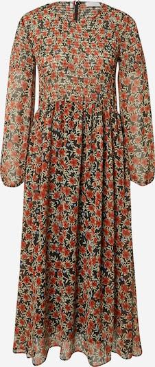 Rich & Royal Kleid in blau / grasgrün / rot / schwarz, Produktansicht