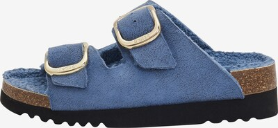 SCHOLL Slippers 'ILARY FLUFFY' in Blue, Item view