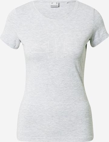 4F Sportshirt in Grau
