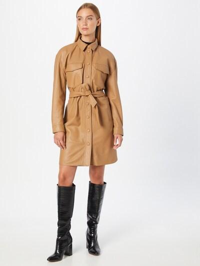 2NDDAY Kleid 'Locust' in hellbraun, Modelansicht