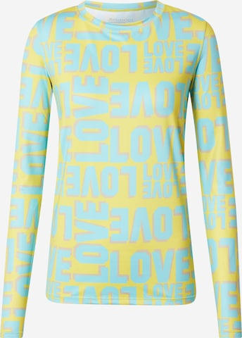 DELICATELOVE Μπλουζάκι 'TASHA' σε κίτρινο