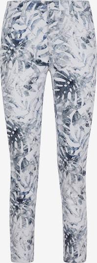 BRAX Jeans 'Caro S' in de kleur Blauw / Duifblauw / Wit, Productweergave