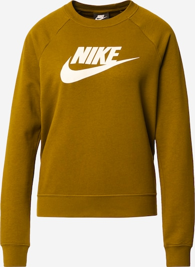 Nike SportswearCollegepaita 'Essential Crew' värissä oliivi, Tuotenäkymä