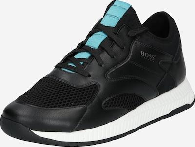 BOSS Casual Sneaker low 'Titanium' i turkis / sort, Produktvisning
