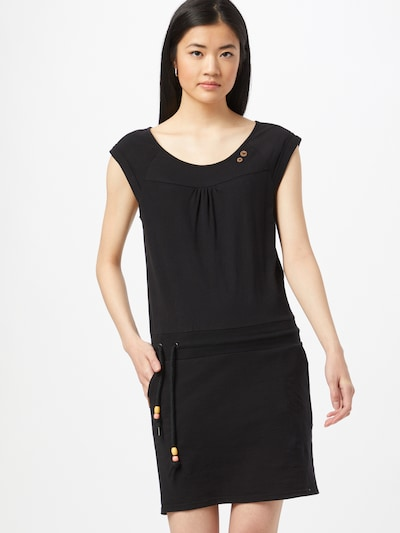 Ragwear Kleid 'PENELOPE' in schwarz, Modelansicht