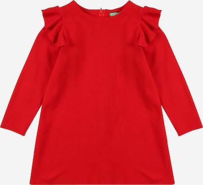 UNITED COLORS OF BENETTON Kleid in rot, Produktansicht