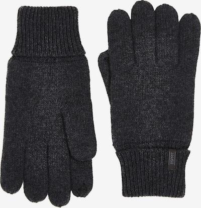 ESPRIT Sporthandschoenen in de kleur Antraciet, Productweergave