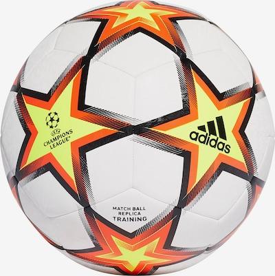 ADIDAS PERFORMANCE Ball in hellgelb / orange / schwarz / weiß, Produktansicht