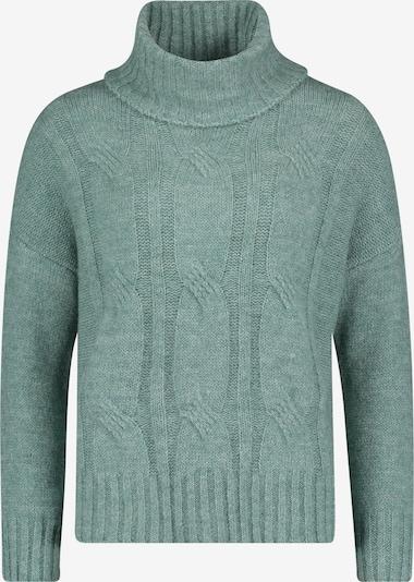 Betty & Co Grobstrick-Pullover mit Turtle Neck in türkis, Produktansicht