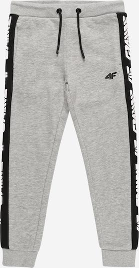 4F Sporthose in graumeliert / schwarz, Produktansicht