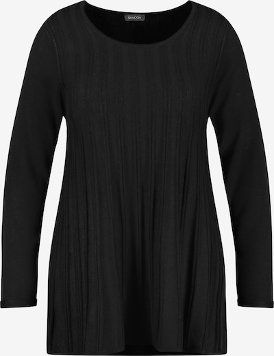 SAMOON Pullover in schwarz, Produktansicht