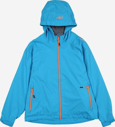 CMP Outdoorjas in de kleur Blauw / Sinaasappel, Productweergave