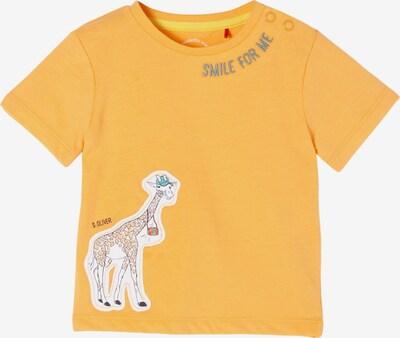 s.Oliver Shirt in hellorange / weiß, Produktansicht