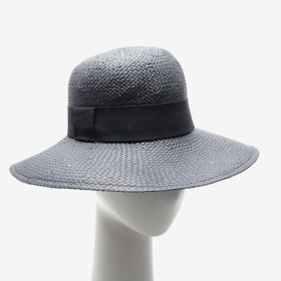 Iris & Ink Hut in XL in rauchblau / schwarz, Produktansicht