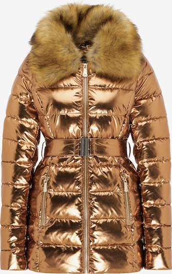 faina Winterjas in de kleur Goud, Productweergave