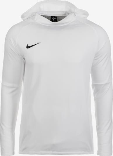NIKE Sportsweatshirt 'Dry Academy 18' in de kleur Zwart / Wit, Productweergave