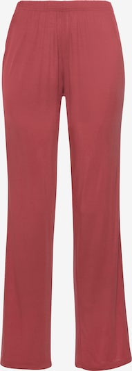 LASCANA Pyjamahose in rosé, Produktansicht
