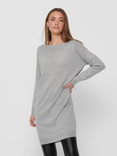 ONLY Kleid 'Amalia' in hellgrau, Modelansicht