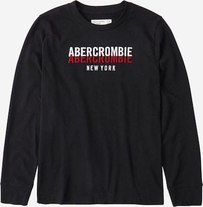 Abercrombie & Fitch Shirt in rot / schwarz / weiß, Produktansicht