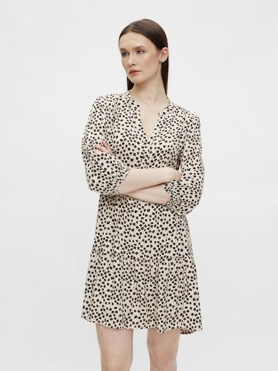 OBJECT Shirt Dress 'Sofia' in Light grey / Black, View model