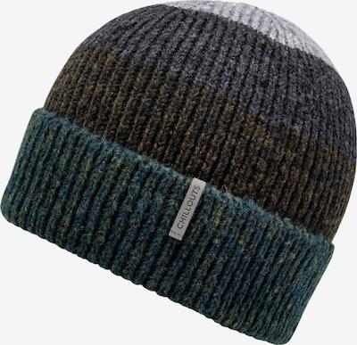 chillouts Mütze 'Fritz Hat' in braun / grau / petrol, Produktansicht
