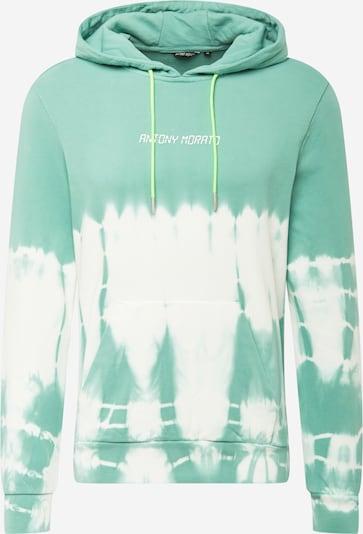 ANTONY MORATO Sweatshirt in türkis / weiß, Produktansicht