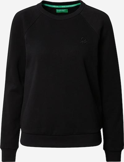 UNITED COLORS OF BENETTON Bluzka sportowa w kolorze czarnym: Widok z przodu