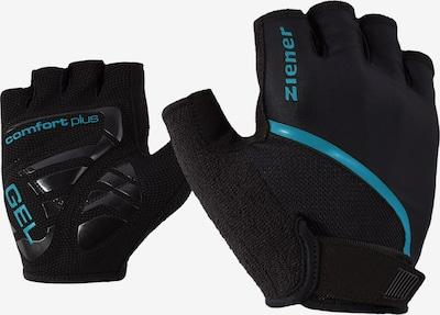 ZIENER Fahrradhandschuhe 'CELAL' in blau / schwarz, Produktansicht