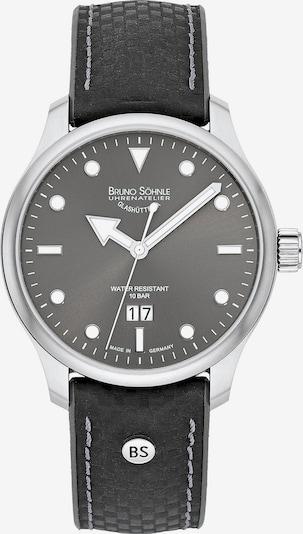 Bruno Söhnle Uhr in schwarz / silber, Produktansicht