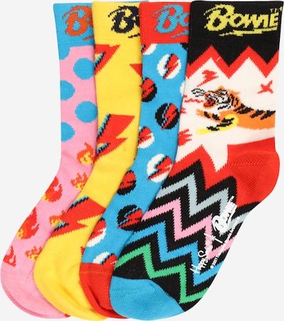 Happy Socks Chaussettes 'Bowie' en mélange de couleurs, Vue avec produit