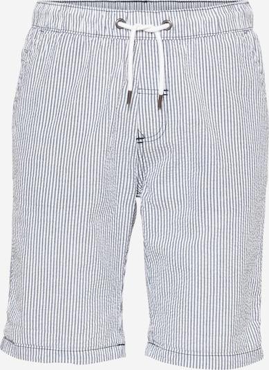 !Solid Püksid tuvisinine / valge, Tootevaade