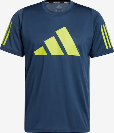 Tricou funcțional 'FreeLift' ADIDAS PERFORMANCE pe albastru marin / galben neon, Vizualizare produs
