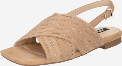 STEFFEN SCHRAUT Sandały 'CHAIN AVE' w kolorze kremowy / srebrnym, Podgląd produktu