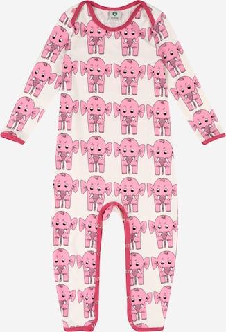 rozā Småfolk Kombinezons/bodijs