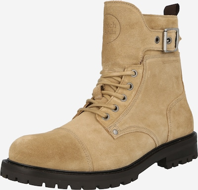 SCOTCH & SODA Lace-Up Boots in Sand, Item view