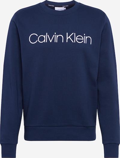 Calvin Klein Sweat-shirt en bleu marine, Vue avec produit