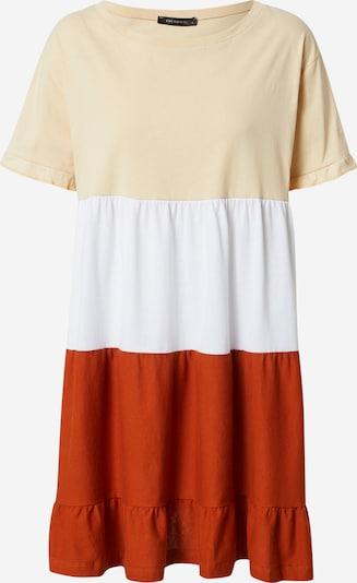 Trendyol Robe en beige / rouge / blanc, Vue avec produit