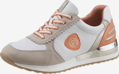 REMONTE Sneakers in Beige / Orange / White, Item view