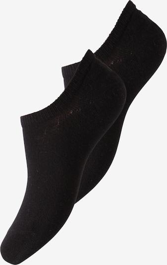 PIECES Chaussons 'Tess' en noir, Vue avec produit