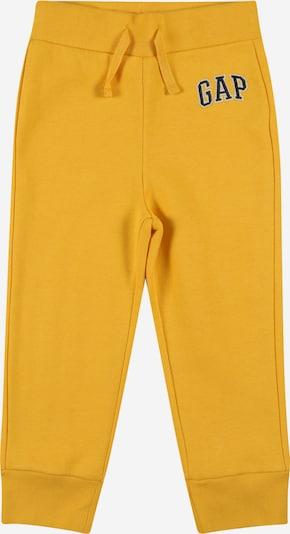 GAP Bikses, krāsa - zeltaini dzeltens / melns / balts, Preces skats