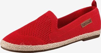 TOM TAILOR Espadrilles in rot, Produktansicht