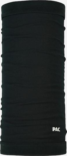 P.A.C. Sportschal in schwarz / weiß, Produktansicht