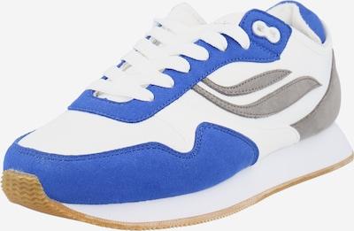 GENESIS Baskets basses 'Iduna' en bleu roi / gris / blanc naturel, Vue avec produit